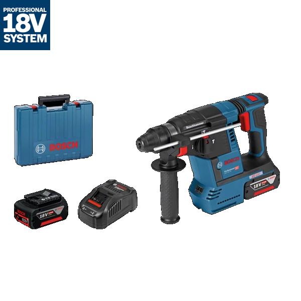 Ciocan rotopercutor cu acumulator cu SDS plus GBH 18V-26 in valiza profesionala
